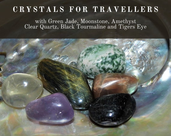 Crystals for Travellers, Crystals for Travel,  Travel Crystals,  Healing Crystals