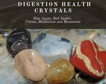 Digestion Health Crystals, Crystals for Good Digestion,  Digestion Healing Crystals