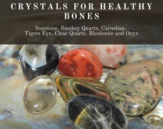Crystals for Healthy Bones, Bone Health Crystals,  Crystals for Bone Healing, Crystals Therapy