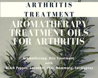 Arthritis Aromatherapy Oils , Pain Relief Treatment Oils for Arthritis, Anti-Inflammatory Essential Oils, Arthritis Relief Oils