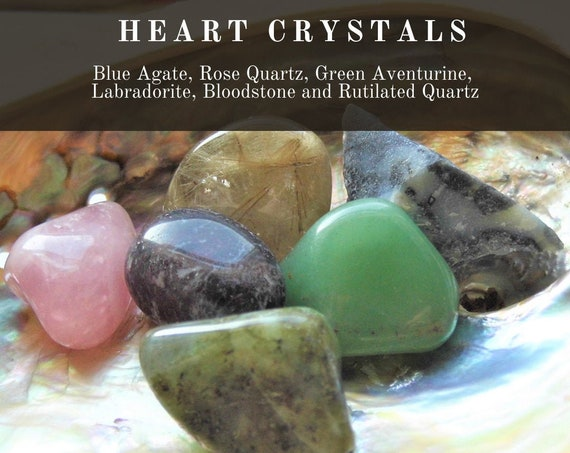 Heart Crystals, Crystals for the Heart,  Healing Heart Crystals, Crystals Therapy