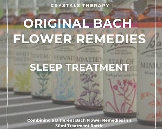 Bach Flower Remedies for Sleep, Original Bach Flower Remedies, Sleep Treatment, Bach Flower Essences