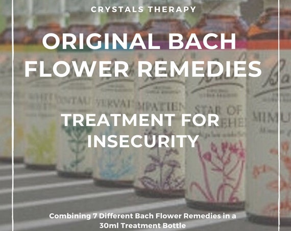 Bach Flower Remedy for Insecurity, Original Bach Flower Remedies, Treatment for Insecurity