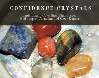 Confidence Crystals,  Increasing Confidence Crystals, Crystals for Self Belief