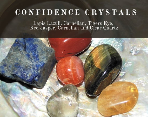 Confidence Crystals,  Confidence Building Crystals, Confidence  Healing Therapy,  Clarity & Confidence