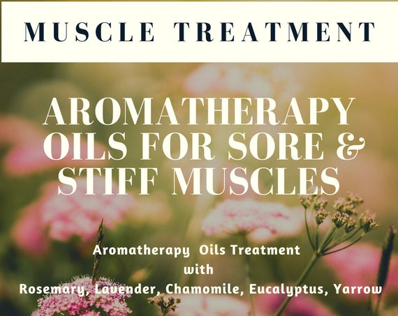 Aromatherapy Oils for Muscle Ache,  Sore Muscle Treatment Oil,  Aching Muscle Treatment Oil