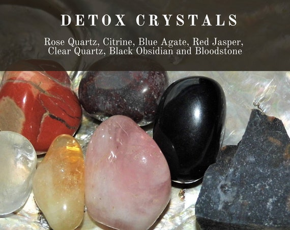 Detox Crystals , Crystals for Detox, Detox Crystal Healing, Detox Crystals Therapy