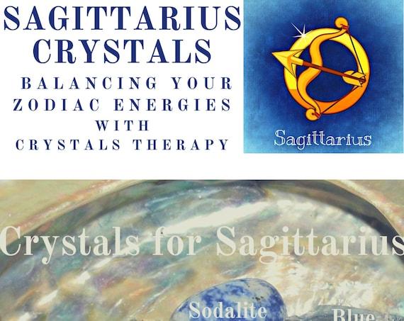 Sagittarius Zodiac Crystals,  Sagittarius Gemstones,  Sagittarius Energy Healing Crystals, Crystals for Star Signs,