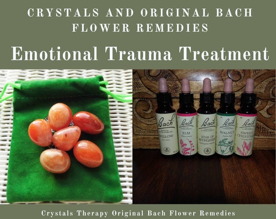 Emotional Trauma Treatment,  Crystals and Bach Flower Remedies, Emotional Therapy