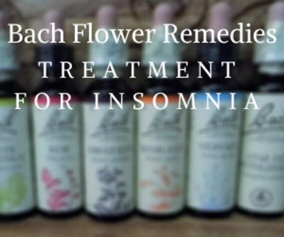 Bach Flower Remedies for  Insomnia, Bach Original Flower Remedies, Bach Flower Essences