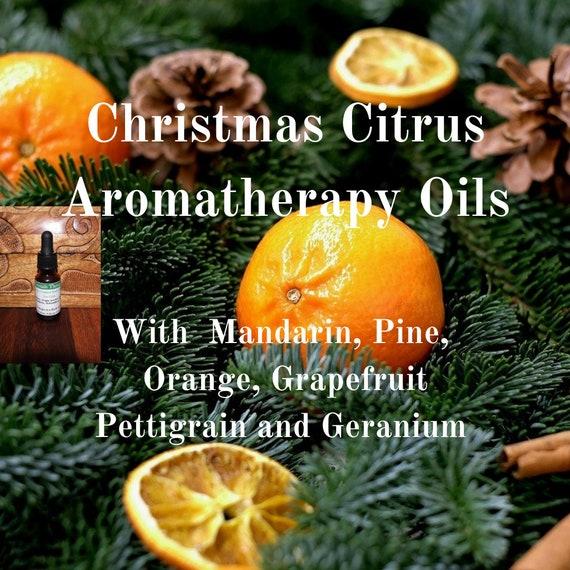 Christmas Citrus Oils,  Citrus Aromatherapy Oils, Citrus Oils for Christmas