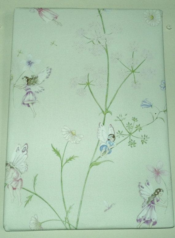 Fairies Fabric Picture, Sanderson Fairyland Art, Fabric Picture, Fairy Picture