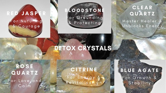 Detox Crystals , Crystals for Healing, Healing Gifts, Crystals Therapy