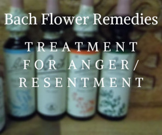 Bach Flower Remedies for  Anger/Resentment, Bach Original Flower Remedies, Bach Flower Essences