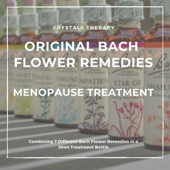 Bach Flower Remedies for Menopause, Original Bach Flower Remedies, Menopause Treatment, Bach Flower Essences