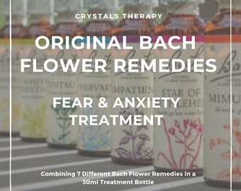 Bach Flower Remedies for Fear and Anxiety, Bach Original Flower Remedies, Bach Flower Essences