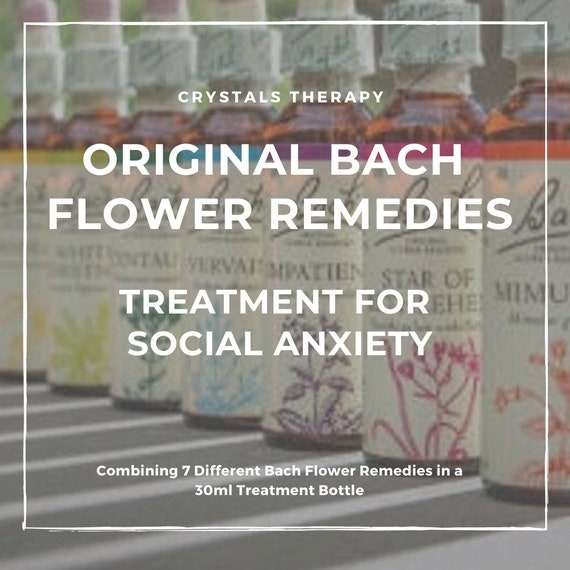 Bach Flower Remedies for Social Anxiety, Bach Original Flower Remedies, Bach Flower Essences