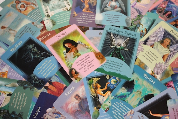 Angel Card Reading with Healing, Online Oracle Card Reading, Personal Oracle Card Reading