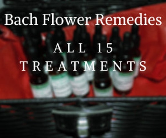 All 15 Original Therapies of Bach Flower Remedies