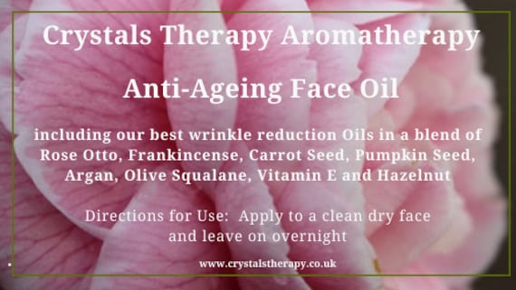Anti-Ageing  Aromatherapy Face Oils, Aromatherapy Oil, Face Oil, Essential Oil Treatments