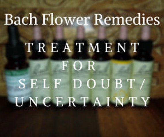 Bach Flower Remedies for Self Doubt/Uncertainty, Bach Original Flower Remedies, Bach Flower Essences