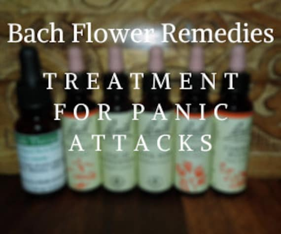 Bach Flower Remedies for  Panic Attacks, Bach Original Flower Remedies, Bach Flower Essences