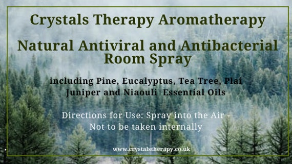 Natural Antiviral and Antibacterial Room Spray with Essential Oils, Air Freshener  Essential Oil Room Spray