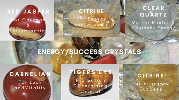 Energy Crystals, Success Crystals, Healing Crystals, Crystal Therapy