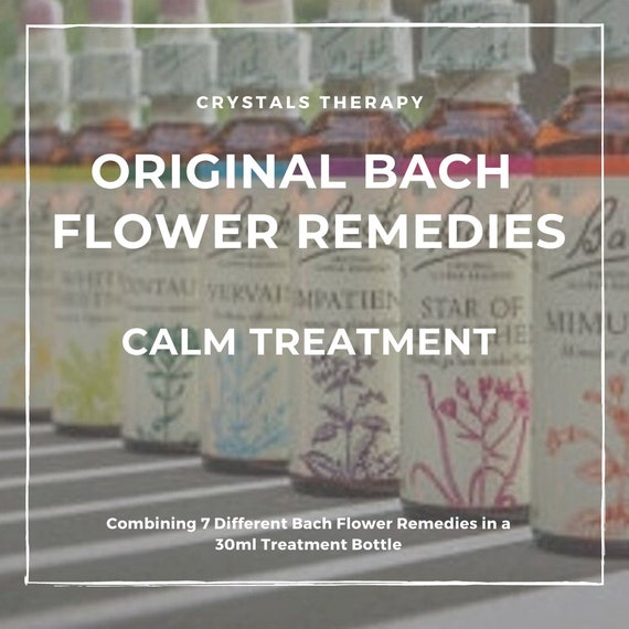 Bach Flower Remedies for Calm, Bach Original Flower Remedies, Bach Flower Essences