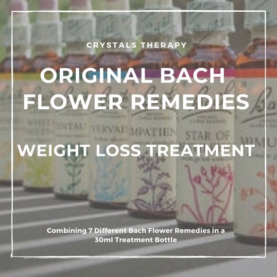 Bach Flower Remedies for Weight Loss, Original Bach Flower Remedies, Weight Loss Treatment, Bach Flower Essences