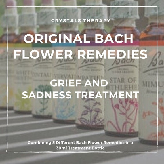 Bach Flower Remedies for Grief/Sadness, Bach Original Flower Remedies, Bach Flower Essences