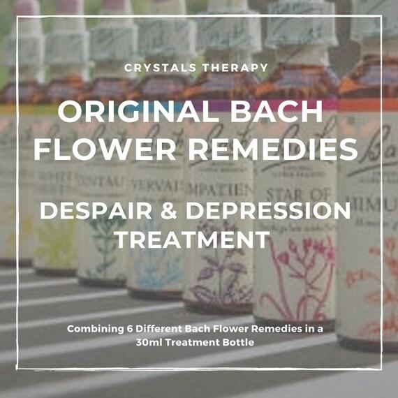 Bach Flower Remedies for Despair/Depression, Bach Original Flower Remedies, Bach Flower Essences