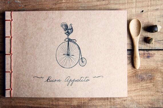 Livre De Recette Vierge Journal Recette Cuisine Cadeau