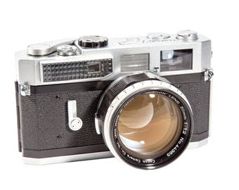 Canon 7 - 35mm Very Rare Film Rangefinder Camera Images- Digital Download - 6000px High Quality
