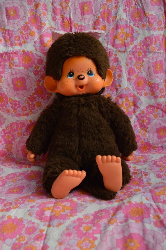 Big Vintage Monchhichi by Sekiguchi Japan 1974 | 17