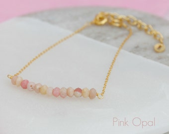 Semi Precious Opal Bracelet