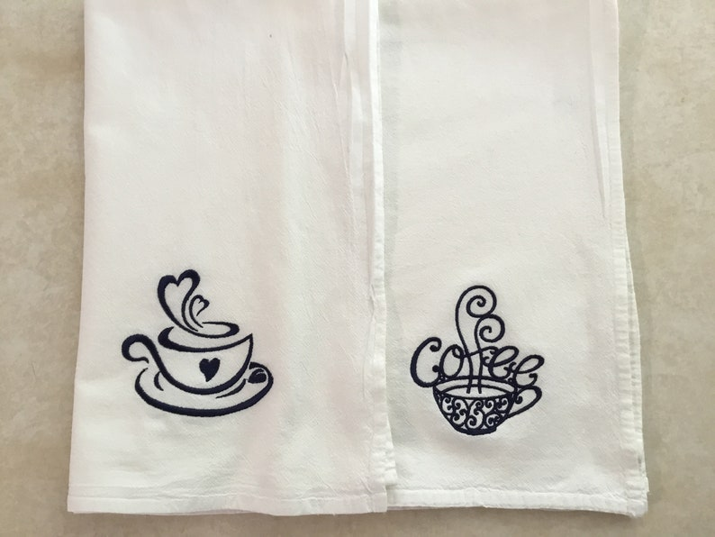 Tea Towels  Coffee Loving / Housewarming / Coffee cups  image 0