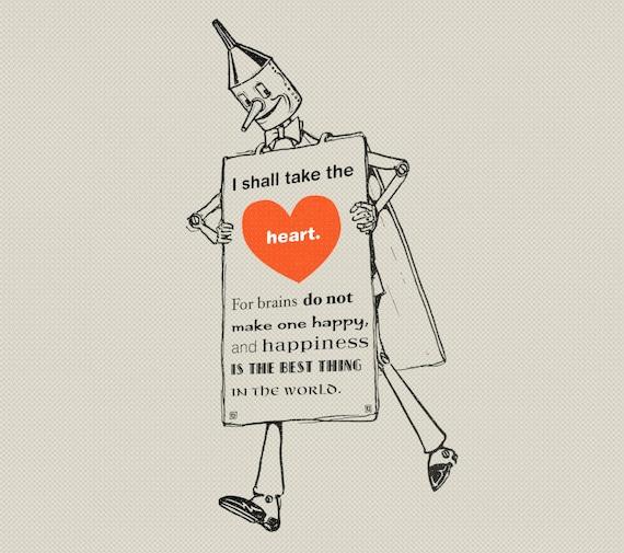 Hombre de la lata Clip arte Tin hombre corazón citar Tin | Etsy