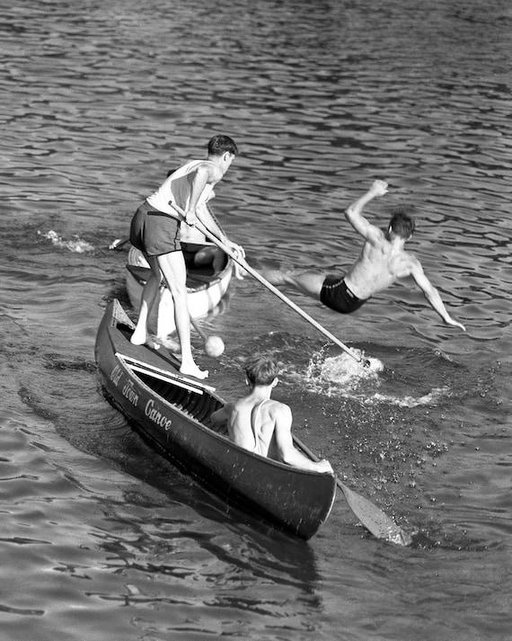 Black Forest D/écor Antique Style Canoe Paddle