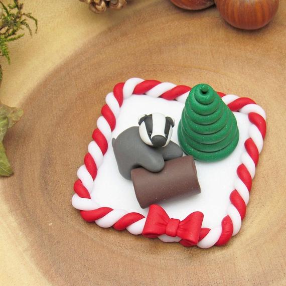 Christmas Cake Decorations Etsy
