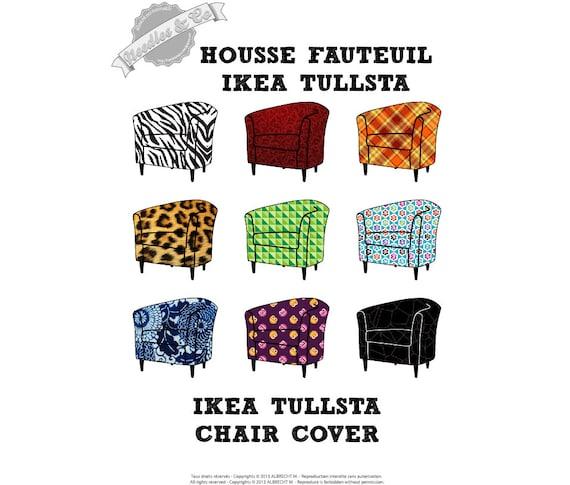 Excellent Ikea Tullsta Chair Cover Pattern Patron Housse Ikea Tullsta Ncnpc Chair Design For Home Ncnpcorg