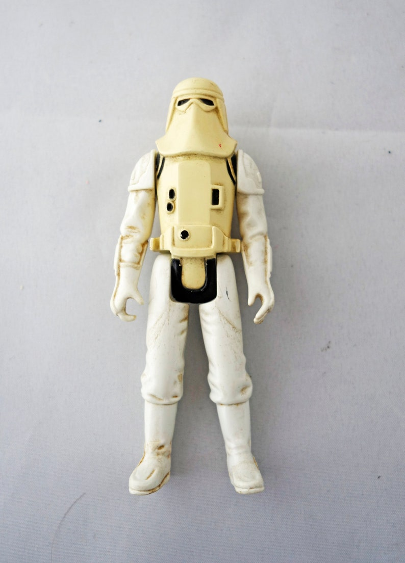 Star Wars Snowtrooper Stormtrooper Action figure Lucasfilm by Kenner retro  scifi