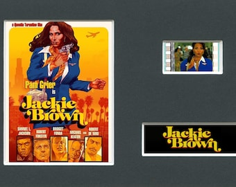 Jackie Brown original rare & genuine film cell from the movie mounted ready for framing!