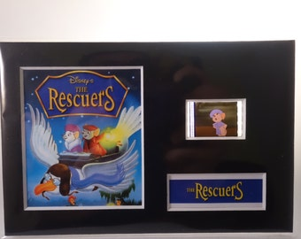 A Disney 1977 RESCUERS original rare & genuine film cell from the movie mounted ready for framing!