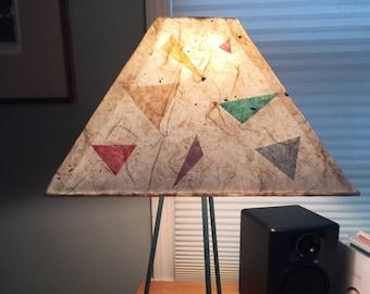 Paper Lampshade Restoration