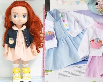 "Jacket set .Doll clothes for Disney animator dolls 16""."