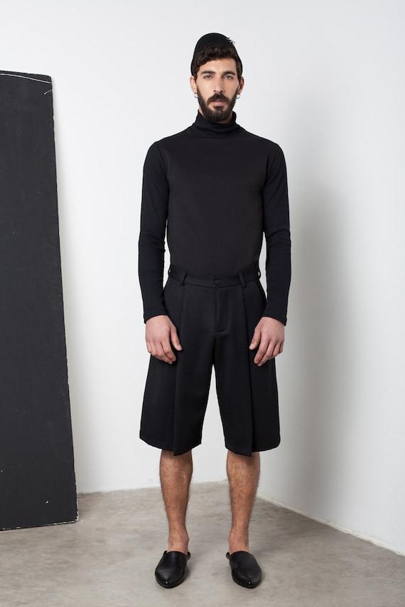 Mens shorts Mens black shorts Mens short shorts Mens | Etsy