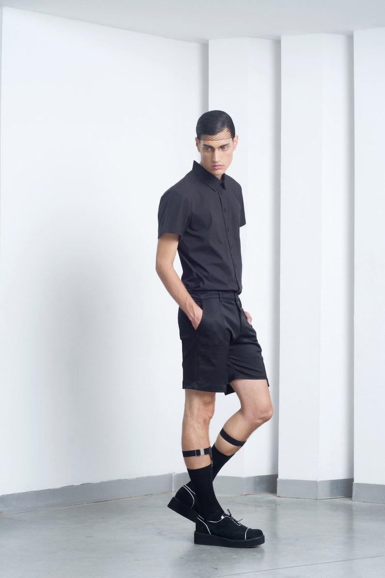 d186a547c Mens garters Mens sock garters Mens black garter Mens sock