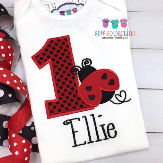 Cartoon Ladybird Design Personalised Baby Bib