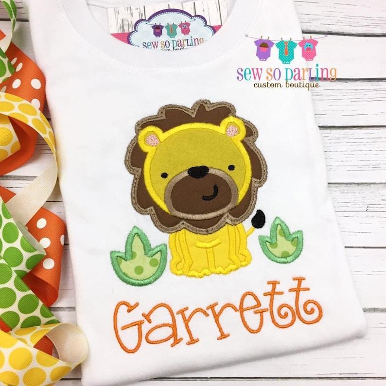 f36a8af92403 Baby Boy Jungle Shirt Baby Boy Lion outfit Baby Boy Jungle